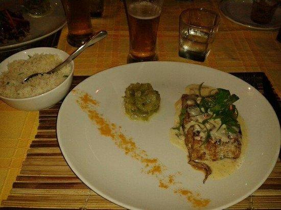 Restaurant La Plancha : Pêche du jour