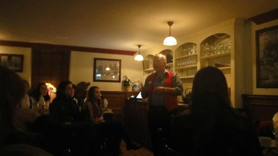An Evening of Food, Folklore and Fairies: Philip our Storyteller