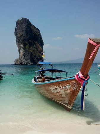 Poda Island : playa