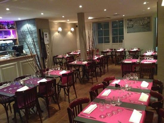 Bistrot Côté Seine : salle du restaurant