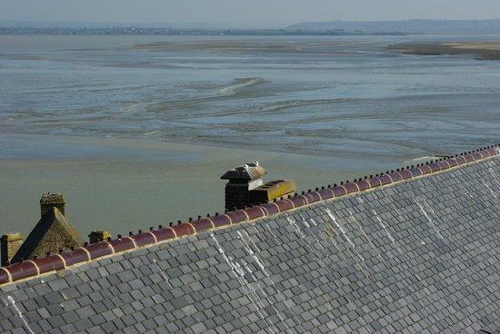 La Vieille Auberge: vue de la terrasse