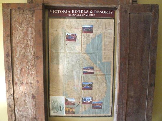 Victoria Angkor Resort & Spa: Map of area