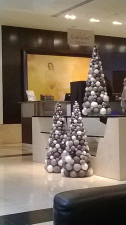 Park Plaza Victoria London: Reception at Christmas