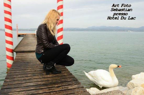 Spiaggia privata Hotel Du Lac