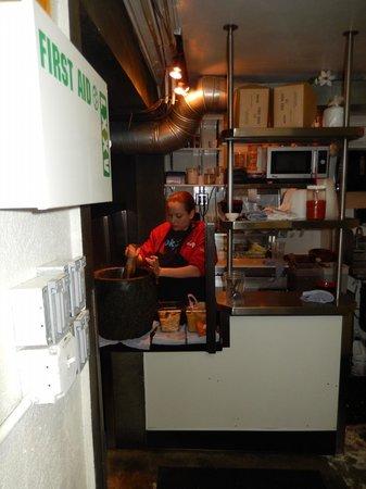 huge mortar!  Picture of Pok Pok Restaurant, Portland  TripAdvisor