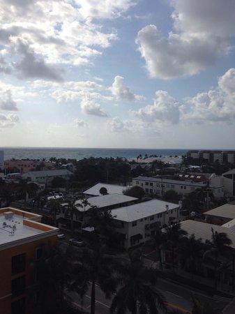 Residence Inn Delray Beach: Ausblick 9ter Stock Meer