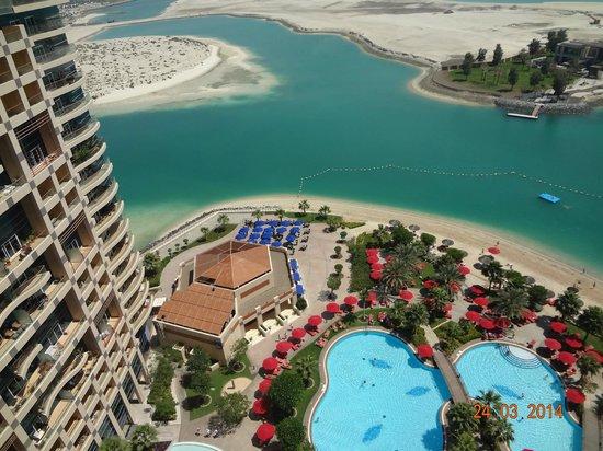 Khalidiya Palace Rayhaan by Rotana: View from the balcony