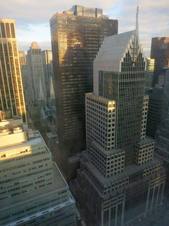 The Towers of the Waldorf Astoria: View from Waldorf Towers luxury guest room at floor Nr. 36
