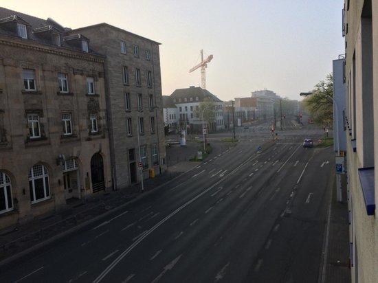 Ibis Budget Darmstadt City: Ausblick Tag 1