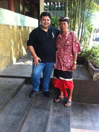 Bali Rani Hotel: Our guide