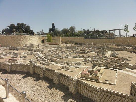 Musée d'Israël : модель Иерусалима