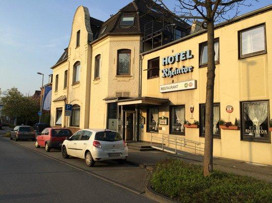 Hotel Rheintor: 外観