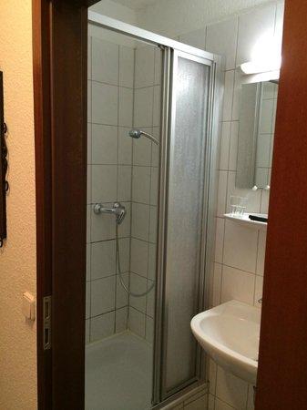 Hotel Rheintor: バスルーム