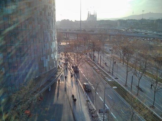 Silken Diagonal Barcelona: Vista