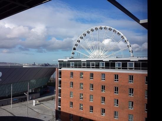 Staybridge Suites Liverpool : view from room 604