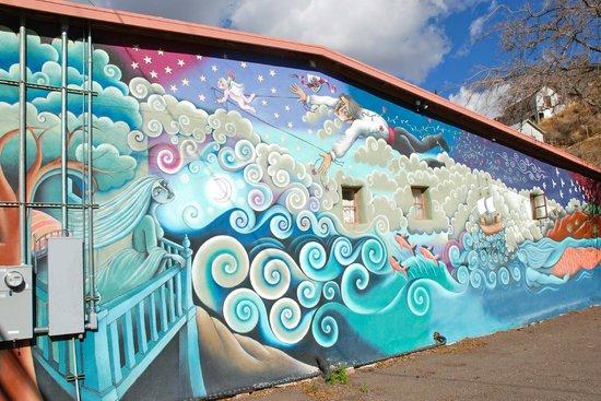 Jonquil Motel: Mural