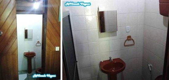 Pousada Chez Max: Banheiro