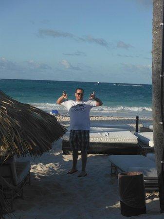 Bavaro Princess All Suites Resort, Spa & Casino : Platinum Beach Area