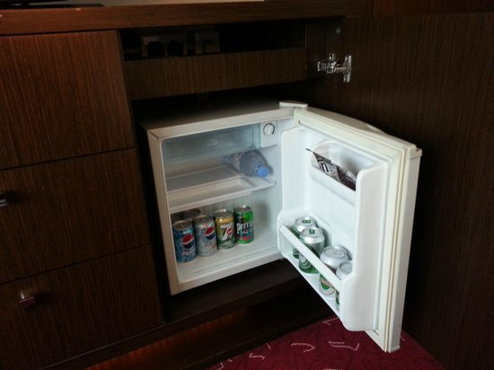 Courtyard Hong Kong: Mini bar