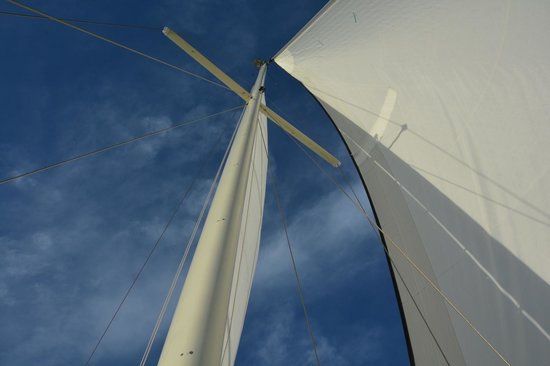 Key Sailing : Sails up!