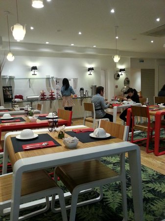 Hotel George - Astotel: Sala colazione