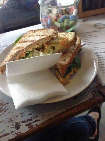 The Dairy: Il sandwich vegetariano: buono!