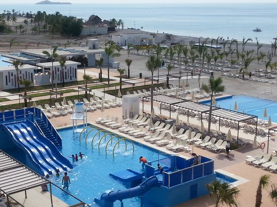 Hotel Riu Playa Blanca: pool view for kids