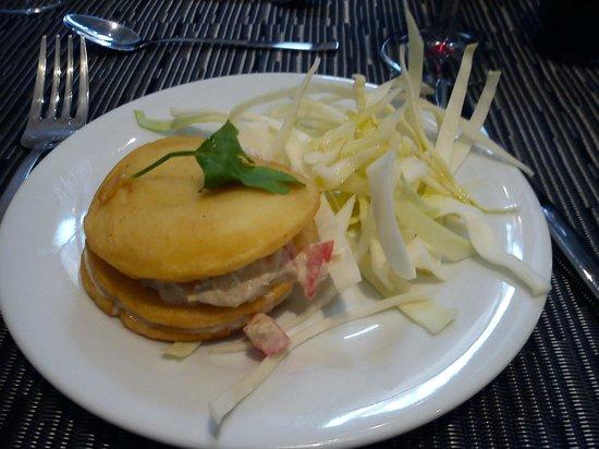 Le Panier Gourmand : Millefeuille de panisse, choux rave