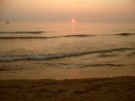 La Passeggiata : tramonto