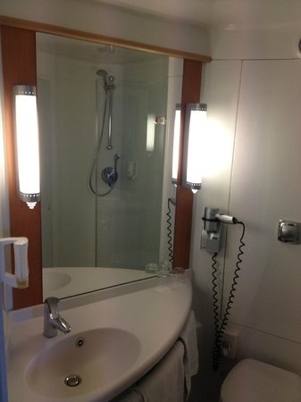 Ibis Friedrichshafen Airport: Bathroom