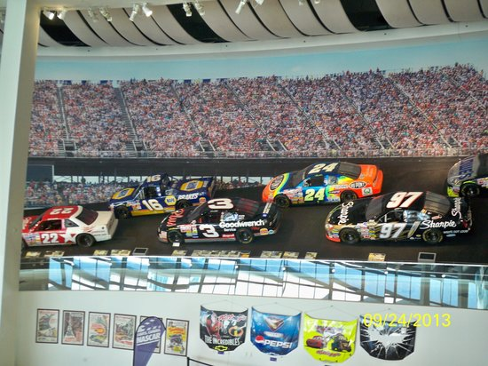 NASCAR Hall of Fame : #3 from the balcony