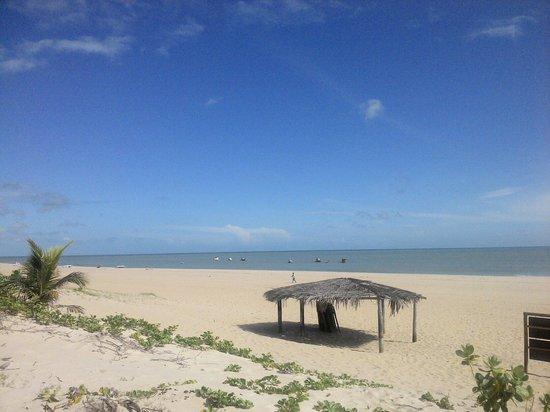 Pousada So Alegria: Praia do Maceió ... em frente a pousada