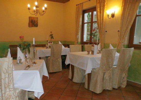 Lagler: romantischer Speisesaal