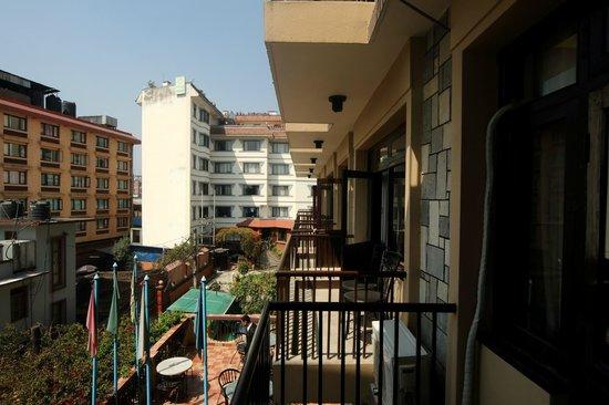 Hotel Thamel: Balcony