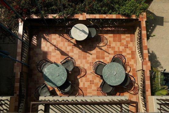 Hotel Thamel: Terrace