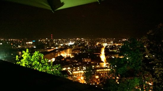 Restavracija Strelec: City View aus dem Strelec/Terrasse