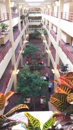 Hampton Inn Denver - Southwest/Lakewood: 3rd floor overlooking the atrium.