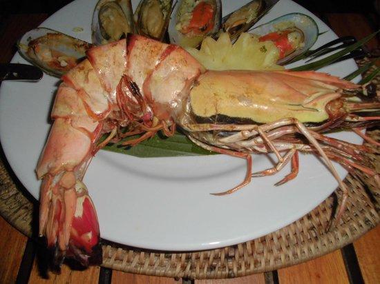 Centara Villas Samui: Dinner for one