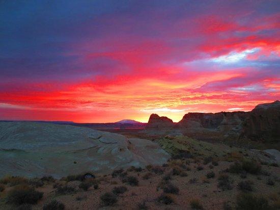 Amangiri: Sunrise on the Helipad