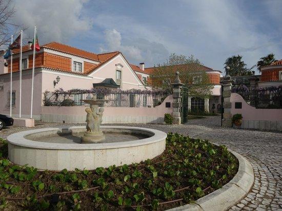 Club D'Azeitao : Entrance to the hotel