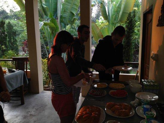 Mai Siam Resort: petit déjeuner
