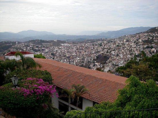 Hotel Montetaxco: widok z pokoju