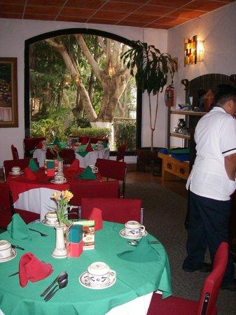 Hotel Montetaxco: Śniadanie w restauracji
