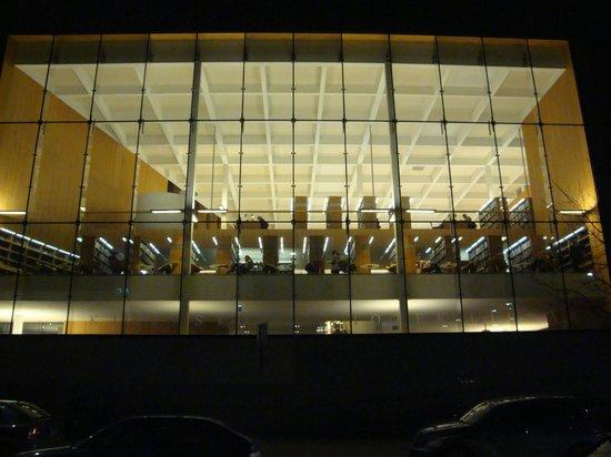 Stadtbibliothek Turku: Здание библиотеки с улицы