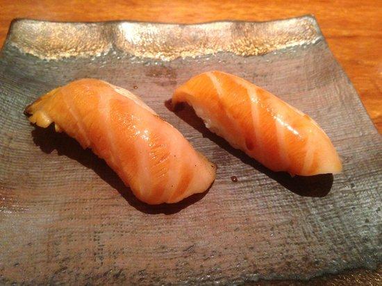 Koy Shunka: niguiris de salmon