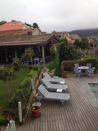 Hotel Quinta de San Amaro: vista desde la habitacion 1