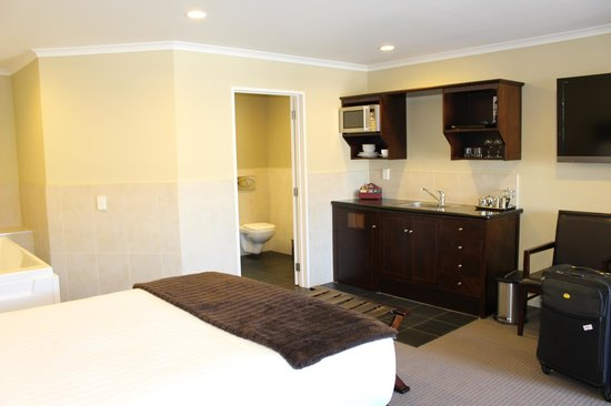 Aotea Motor Lodge: Self catering facilities
