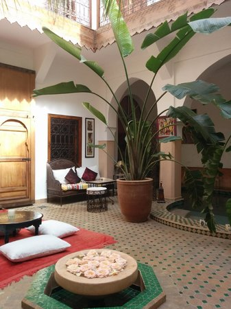 Riad Limouna : Courtyard