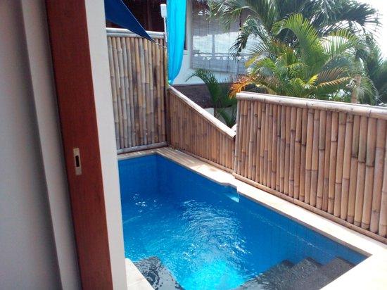 Lembongan Harmony Villas: overlooked from the walkway