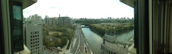 The Peninsula Tokyo: vue de chambre au 17 étage